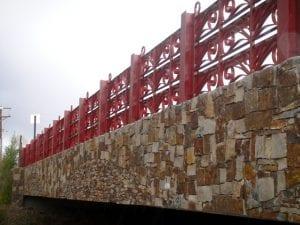 Bridge in Barrio La Canada, Santa Fe NM