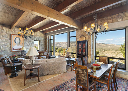 411 Mesa Prieta Road - The River Ranch, Youngsville, New Mexico 87064, 4 Bedrooms Bedrooms, ,5 BathroomsBathrooms,Residential,For Sale,Mesa Prieta Road - The River Ranch,202104484